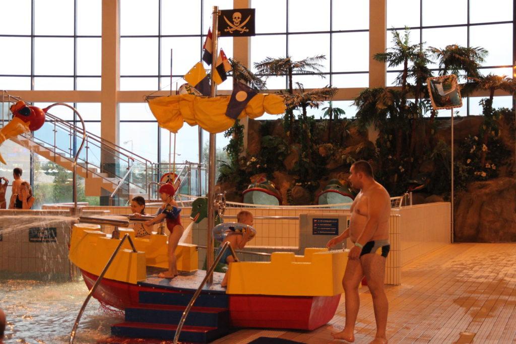 Водные горки в аквапарке Kraków Aquapark