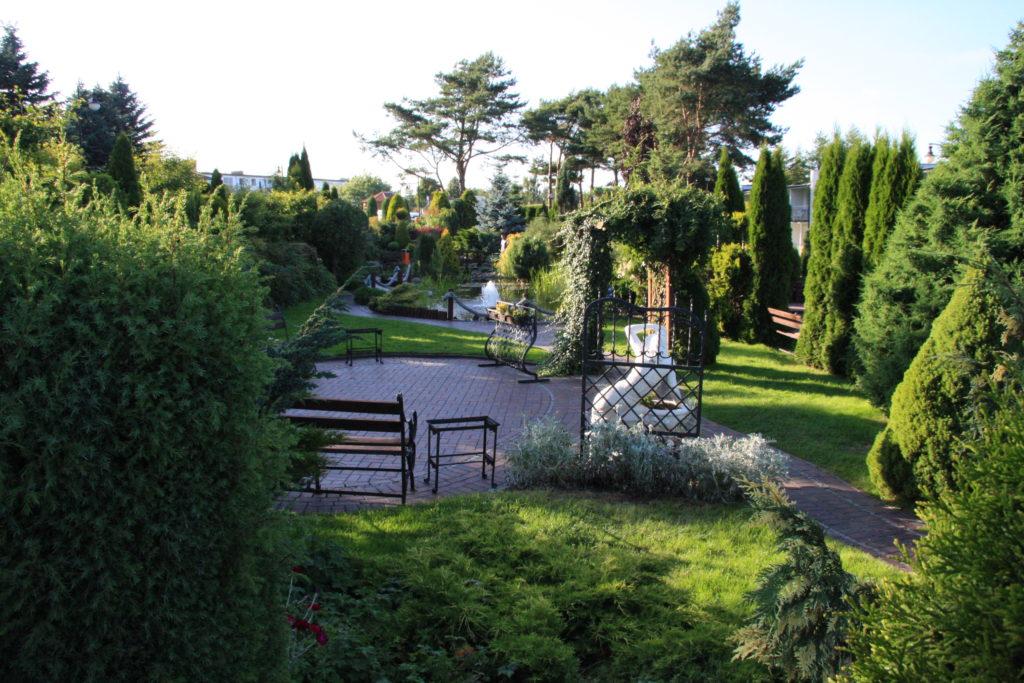 Зона отдыха в парке