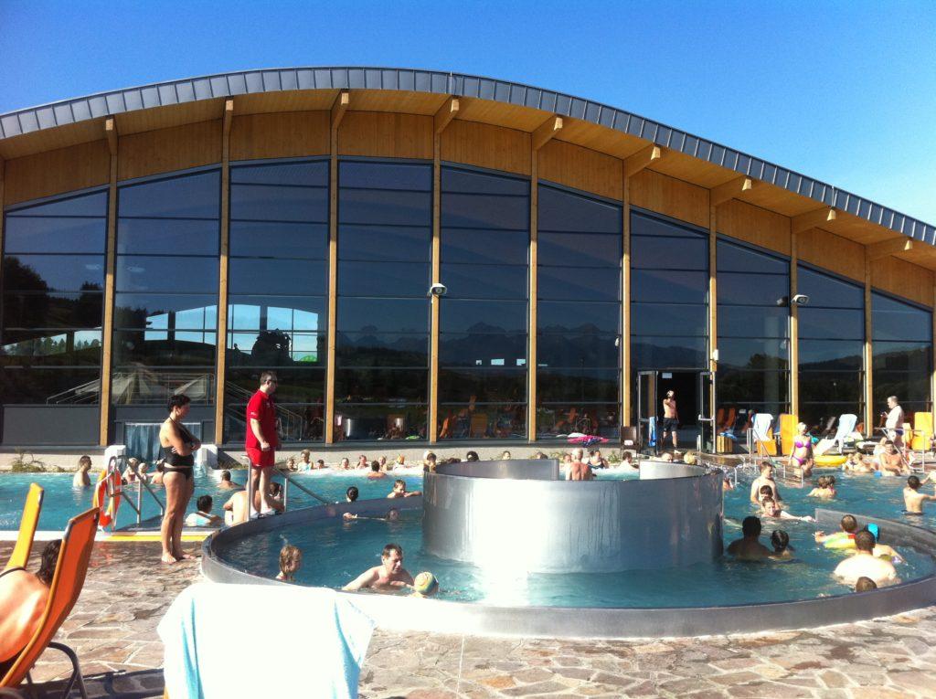 Фасад аквапарка