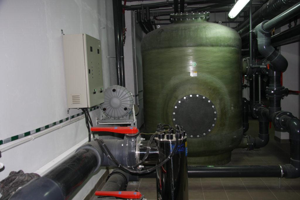 Фильтрационная станция для бассейна
