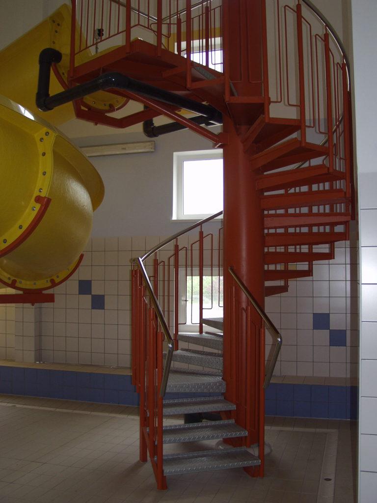 Лестница для водной горки