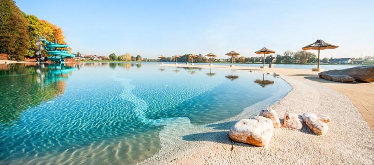 Водные горки в аквапарке Osiek