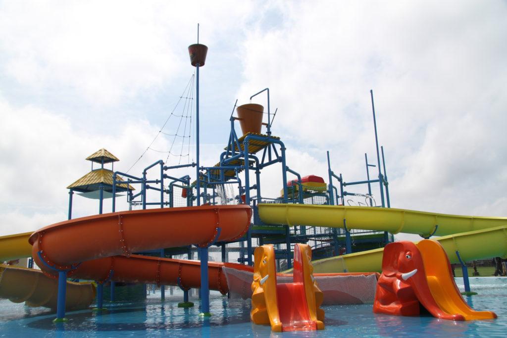 Детский водный городок
